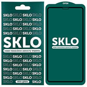 "Защитное стекло SKLO 5D (full glue) для Apple iPhone 12 Pro Max (6.7"")"