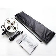 Софтбокс (Softbox) 60x90 см на 5 ламп E27. Постійний студійне світло зі стійкою, фото 3