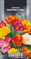 Эшшольция Махровая смесь, 0.3 г, SeedEra. Однолетние цветы для сада, дачи, клумбы, Семена цветов почтой