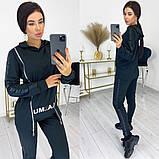 Женский спортивный костюм кофта и штаны двухнитка размер: 42-44, 46-48, 50-52, фото 3