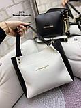 Стильный комплект из сумки и клатча, фото 9