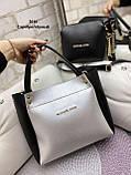 Стильный комплект из сумки и клатча, фото 4