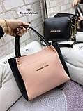 Стильный комплект из сумки и клатча, фото 8