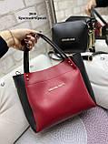 Стильный комплект из сумки и клатча, фото 3