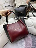 Стильный комплект из сумки и клатча, фото 10