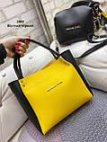 Стильный комплект из сумки и клатча, фото 6