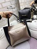 Стильный комплект из сумки и клатча, фото 7