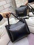 Стильный комплект из сумки и клатча, фото 2