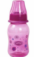 Бутылочка для кормления c силиконовой соской ТМ Lindo  Li132, объёмом 125 мл
