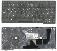Клавиатура для ноутбука Lenovo IdeaPad S210T S215 Frame 008070 черная, фото 1