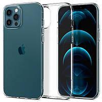 Чохол Spigen для iPhone 12 Pro Max Liquid Crystal, Crystal Clear (ACS01613)