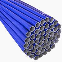 Утеплювач EXTRA синій для труб (6мм), ф18 ламінований Теплоізол