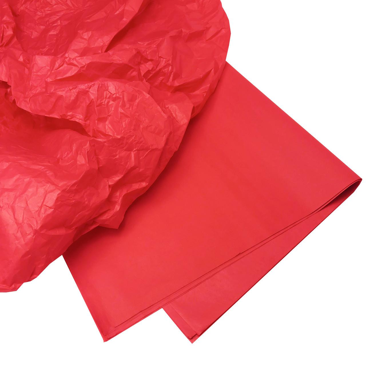 Купити тишею червона 10 аркушів
