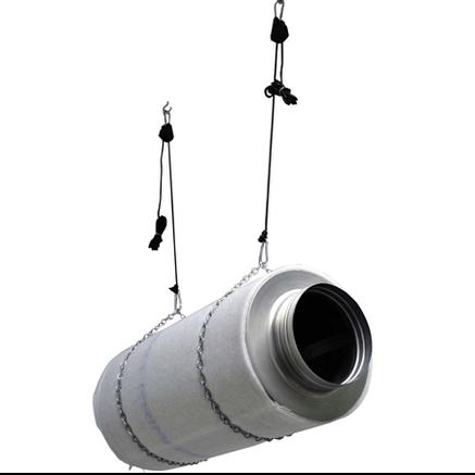 Підвіси для обладнання посилені Rope Ratchet Heavy Weight (2шт в упаковці), фото 2