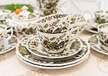 Английский чайно кофейный сервиз на шесть персон,  Ridgway, Windsor, Staffordshire England, 60-70 е года, фото 4
