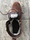Мужские зимние ботинки Timberland brown termo (Реплика ААА), фото 7