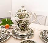 Английский чайно кофейный сервиз на шесть персон,  Ridgway, Windsor, Staffordshire England, 60-70 е года, фото 7