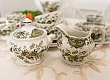 Английский чайно кофейный сервиз на шесть персон,  Ridgway, Windsor, Staffordshire England, 60-70 е года, фото 8