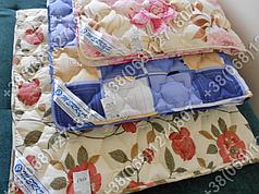 Одеяло 155х215 холлофайбер летнее Merkys цветной поликоттон