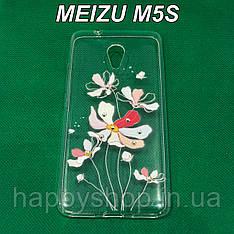 Силиконовый чехол для Meizu M5S (Iris)