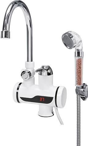 Электрический проточный нагреватель для воды Fala 75923, фото 2