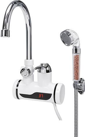 Электрический проточный нагреватель для воды Fala 75924, фото 2