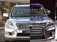 Рестайлинг LEXUS LX 570 в 2012год, обвес Lexus LX 570