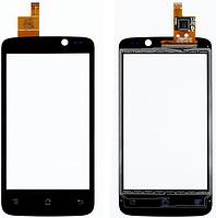 Тачскрин / сенсор (сенсорное стекло) для Fly IQ447 Era Life 1 (черный цвет)