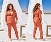 Жіночий костюм-двійка брюки і піджак батал, розміри 48, 50, 52, 54, фото 8