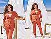 Жіночий костюм-двійка брюки і піджак батал, розміри 48, 50, 52, 54, фото 7