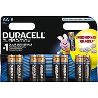 Батарейка АА 8шт DURACELL TurboMax Ultra Power 1.5V LR6 алкалиновая Бельгия