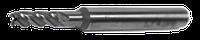 Фреза концевая 4х43,5х20 Z-3, сталь Р6М5, c цилиндрическим хвостовиком dхв=6мм