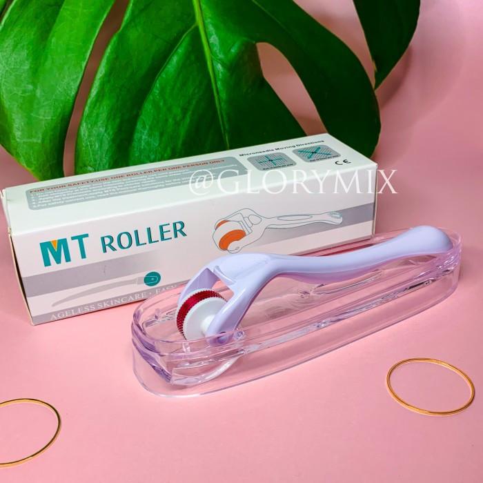 Мезороллер MTroller для носогубных складок, узкий, 180 игл (0,5 мм)