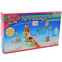 Детская игрушечная мебель My Fancy Life для кукол Барби кабинет. Обустройте кукольный домик (2818), фото 1