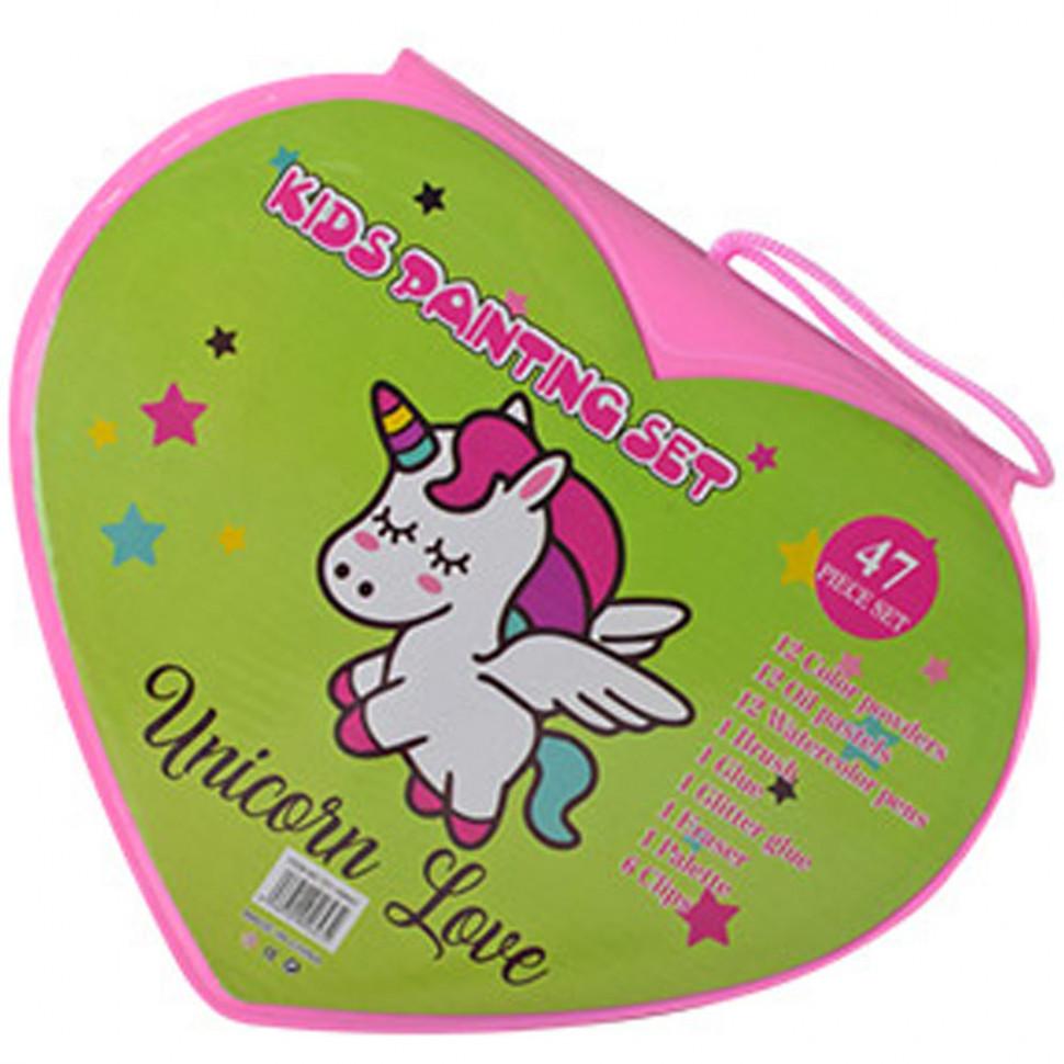 Набор для творчества Рисование MK 3918 Unicorn Love