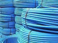 Труба ПЕ 100 Aquamarine (синя) ф 32x2.4 мм PN 10 (ДСТУ)