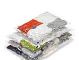 Вакуумные пакеты для хранения одежды 70х100см, фото 2