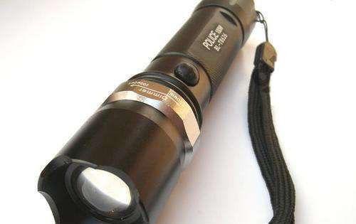Тактический фонарик Police 10000W с линзой Bailong 8626 фонарь