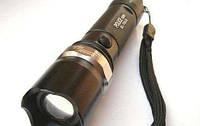 Тактический фонарик Police 10000W с линзой Bailong 8626 фонарь, фото 1