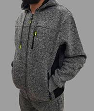 Толстовка(батник)мужская  со съемным капюшоном Польша, фото 3