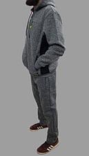 Толстовка(батник)мужская  со съемным капюшоном Польша, фото 2