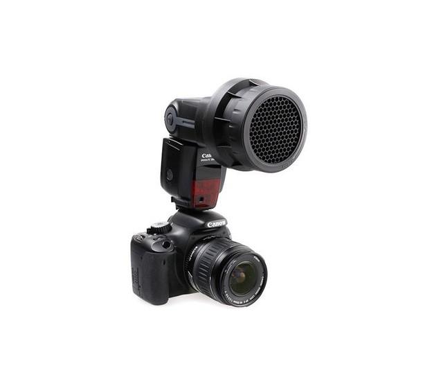 Сотовая насадка на вспышку JJC SG-C (Canon) SG-N (Nikon)