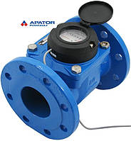 Водосчетчик Apator PoWoGaz MWN-80-NK (ХВ) с импульсным выходом турбинный Ду-80 сухоход промышленный