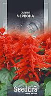 Сальвия Красная 0.1 г, SeedEra. Однолетние цветы, Семена цветов для огорода, сада, дачи, клумб