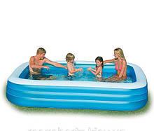 Семейный надувной бассейн 58484 Intex 183х305х56