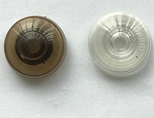 Шайба полікарбонатна бронза без ніжки