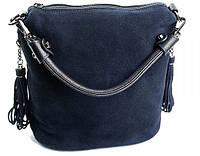 Женская кожаная сумка  79168 Blue.Купить сумки оптом и в розницу по выгодной цене в Украине., фото 1