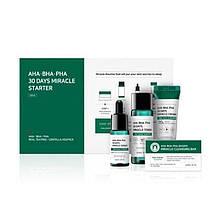 Набор для проблемной кожи с кислотами Some By Mi AHA BHA PHA 30 Days Miracle Mini Set