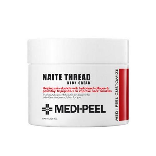 Пептидный крем для шеи и декольте Medi-Peel Naite Thread Neck Cream