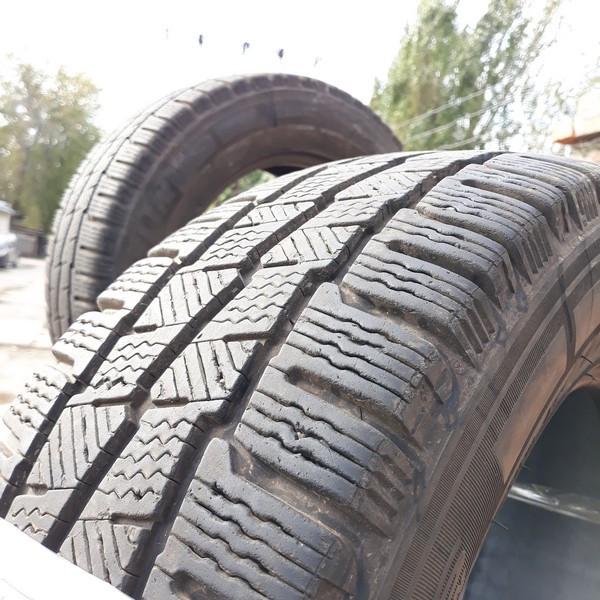 Шины б.у. 215.65.r16с Michelin Agilis Alpin Мишлен. Резина бу для микроавтобусов. Автошина усиленная. Цешка
